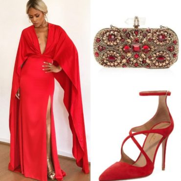 The Look~Christian Siriano, Marchesa & Aquazzura