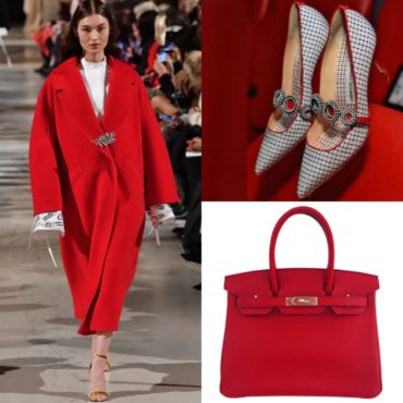 The Look~Oscar De Larenta, Hermes & Manolo Blahnik