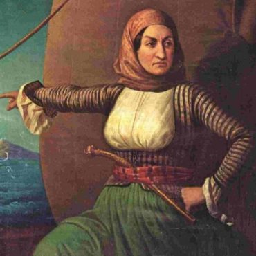 Bouboulina,  Heroine of the Greek War of Independence.