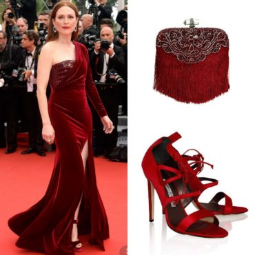 The Look~Givenchy, Marchesa & Manolo Blahnik