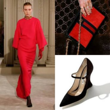 The Look~Valentino, Gucci & Manolo Blahnik
