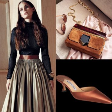 The Look~Loewe, Jimmy Choo & Manolo Blahnik