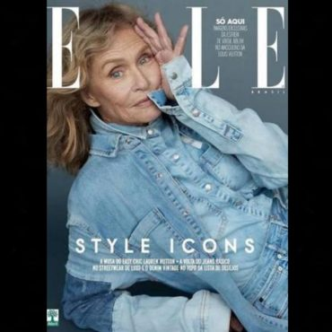 Lauren Hutton, 74 Stars On Elle Magazine Brazil Cover
