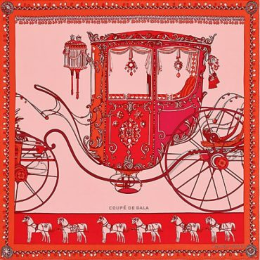 The Hermes Coupe de Gala Scarf