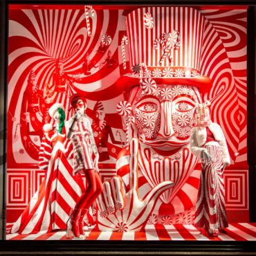 Bergdorf Goodman 2018 Holiday Window