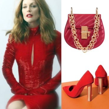 The Look~Nina Ricci, Chloe & Ferragamo