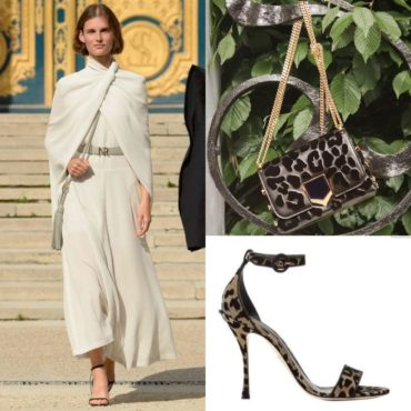 The Look~Nina Ricci, Jimmy Choo & D&G