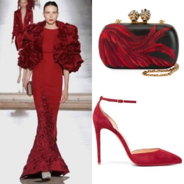 The Look~Tony Ward, McQueen & Louboutin